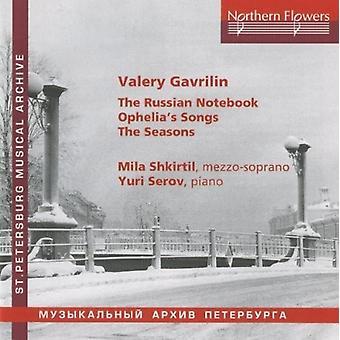 Shkirtil / Serov - V. Gavrilin - Russian Notebook [CD] USA import