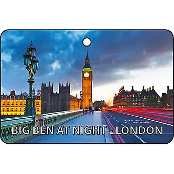 Bign Ben om natten - London bil Air Freshener