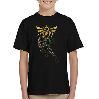 Schatten von Mut Legend Of Zelda Kinder T-Shirt
