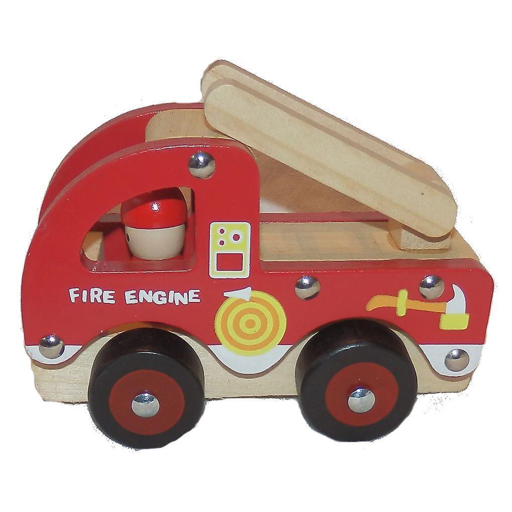 Traditional Wood 'n' Fun Fire Engine