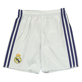 2016-2017 Real Madrid Adidas Home Shorts (alb)-copii