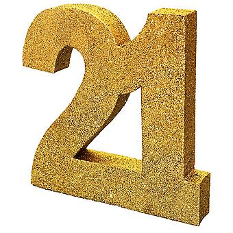 Creative Party Gold Glitter Number Table Decoration 21