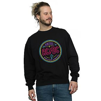 AC/DC Men's Circle Neon Sweatshirt