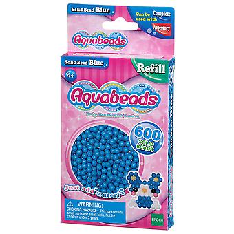 Aquabeads Solid Bead Pack - Albastru