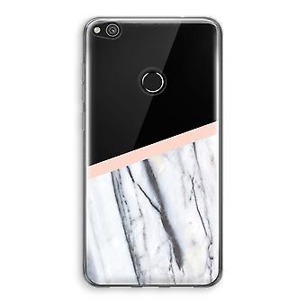 Huawei Ascend P8 Lite (2017) Transparant fall (Soft) - en touch av persika