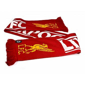 Liverpool FC Official Football Feather Scarf