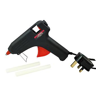 Dekton 40W Midi Glue Gun Anti Drip Nozzle Multi Purpose Inc Glue Sticks