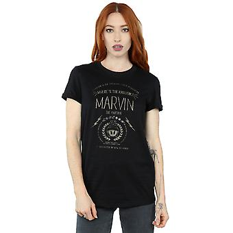 Looney Tunes Women's Marvin The Martian Where's The Kaboom Boyfriend Fit T-Shirt