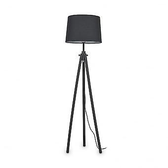 Йорк идеальный Lux штатив напольный Талль лампа, черного дерева