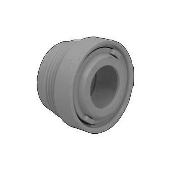"AquaStar ASD105B 1.5"" MPT extensor con ojo y tuerca - gris oscuro"