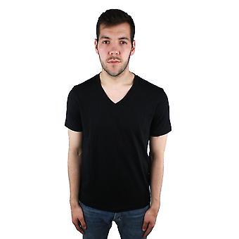 Emporio Armani 3Z1T77 Черная футболка