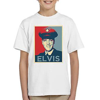 Elvis Presley inspirerade Art Kid's T-Shirt
