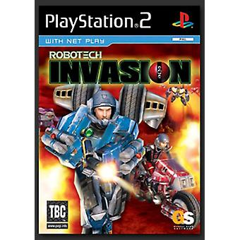 Robotech Invasion (PS2) - New