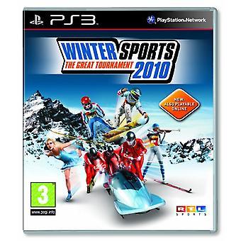 Talviurheilu 2010 Suuri turnaus (PS3) - Uusi