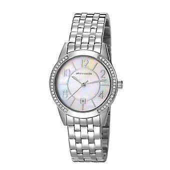 Pierre Cardin ladies watch wristwatch TROCA silver PC106582F14