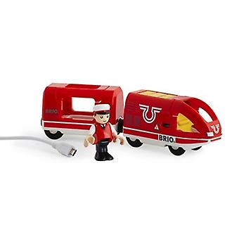 BRIO Travel Rechargeable Train 33746 Wooden Railway Train