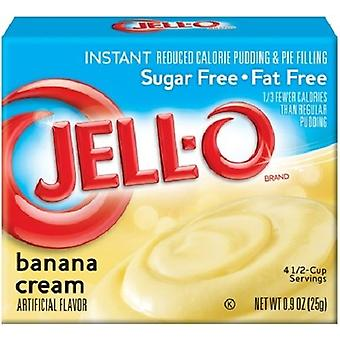 Jello suiker vrije Banana Cream Instant Pudding & Pie vulling Mix