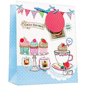 Simon Elvin Polka Dot & Cake Design Gift Bags (Pack de 6)