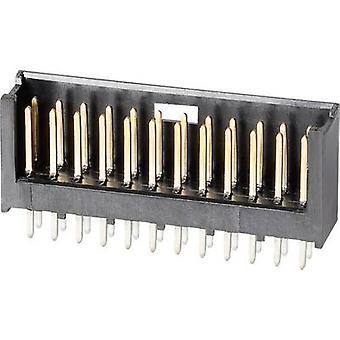 TE Connectivity Pin strip (standard) AMPMODU MOD II numero di spaziatura contatto pin 16: 2.54 mm 280385-2 1/PC