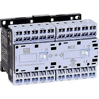 WEG CWCI09-01-30D24S back contactor 6 beslutsfattare 4 kW 230 V AC 9 A + extra kontakt 1 st. (s)