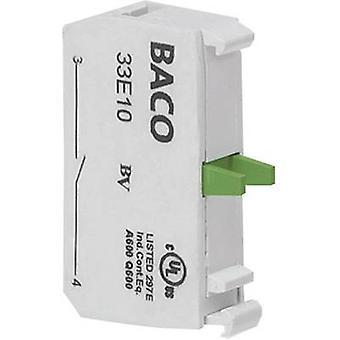 BACO 33E10Y7 Kontakt 1 maker kortvarig 600 V 1 pc (er)