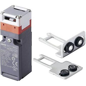 Idec HS5D-12ZRNM-SET Safety button 300 V AC 10 A Steel lever (straight), Steel lever (curved) momentary IP67 1 Set
