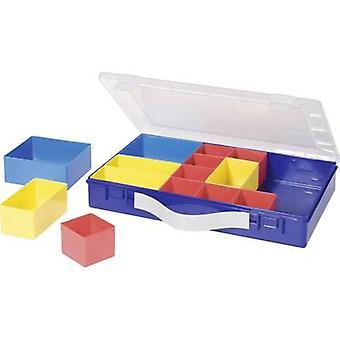 Hünersdorff Assortiment case (L x W x H) 332 x 232 x 55 mm Nr. van compartimenten: 14 variabele compartimenten 1 pc(s)