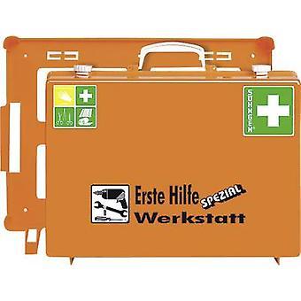 Söhngen 0360111 Första hjälpen-väska verkstad DIN 13 157 + Förlängningar 400 x 300 x 150 Orange
