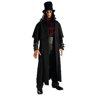 Vampyyri Lord takki ja pipo hiukset dark vampire Miesten