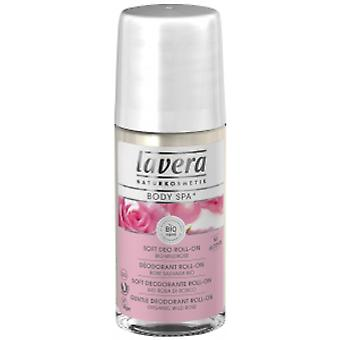 Lavera Body SPA rose hage lett deodorant roll on, 50 ml