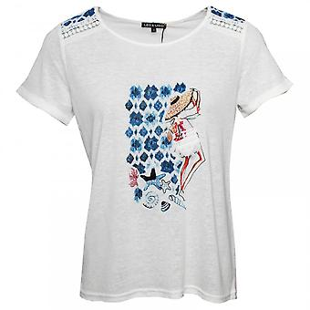 Leo & Ugo Illustrated Cotton And Linen T-shirt