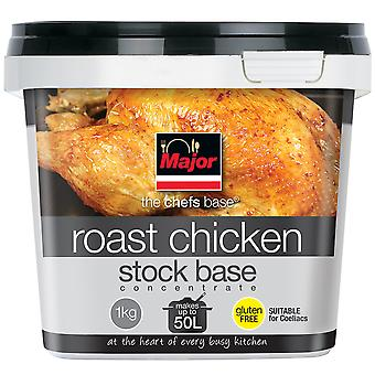 Major senza glutine concentrato a Base di Stock di pollo arrosto
