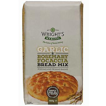 Wrights Baking Garlic & Rosemary Focaccia Bread Mix