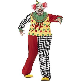 Sinister Clown Costume, Large