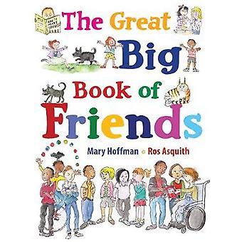 Den stora stora boken vänner av Mary Hoffman - 9781786030542 bok