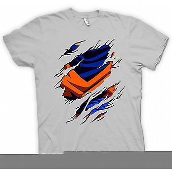 Crianças a t-shirt - Goku rasgou Design - Dragonball Z inspirado