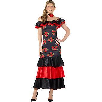 Panie tancerz flamenco strój hiszpański carnival Carnival