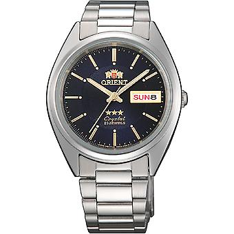Orient 3 Star Watch FAB00006D9 - Acier inoxydable Unisex Analogue automatique