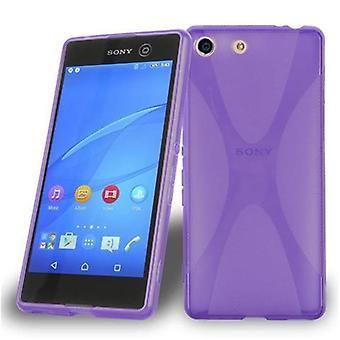 Cadorabo Case for Sony Xperia M5 Case Cover - Flexible TPU Silicone Case Case Ultra Slim Soft Back Cover Case Bumper