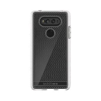 Tech21 Evo Check FlexShock Case for LG V20 - Clear/White