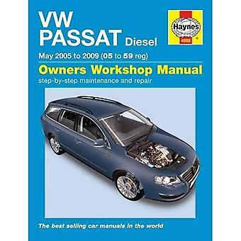 VW Passat Diesel (05-10) Service en reparatie handleiding