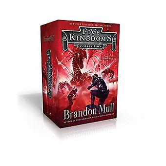 Cinco reinos coleção livros 1-3: céu Raiders; Cavaleiro de desonestos; Guardiões de cristal