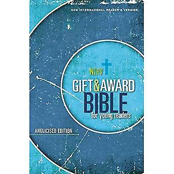 NIrV, cadeau en Award Bijbel voor jonge lezers, kleinkrijgen Edition, Softcover, blauw