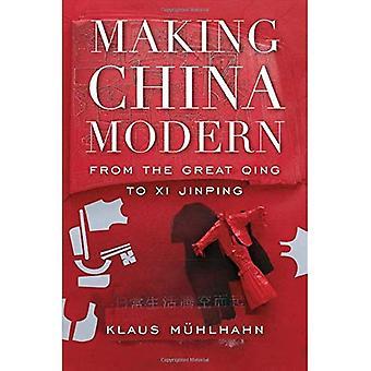 Fazendo a China moderna: de Qing grande de Xi Jinping