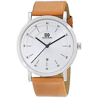 """ساعة اليد """"تصميم الدانمركية"""" 3314529 الرجال والجلود واللون: براون"""