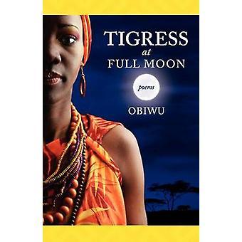 Tigress at Full Moon by OBIWU