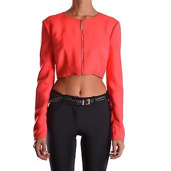 Elisabetta Franchi Ezbc050003 Women's Red Viscose Outerwear Jacket