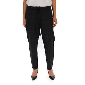 Barena Venezia Pad19530318560 Women's Grey Cotton Pants
