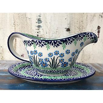 Noble sauce boat + saucer, 700 ml, forget me not, BSN A-1433