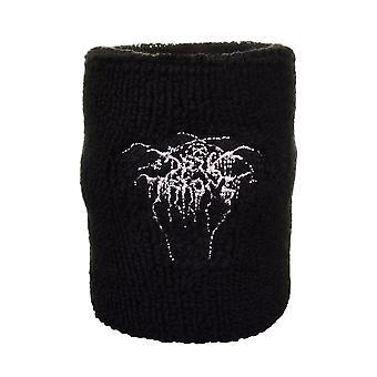 Darkthrone Logo Embroidered Wrist Sweatband